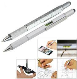 ручки со стилусом и с уровнем