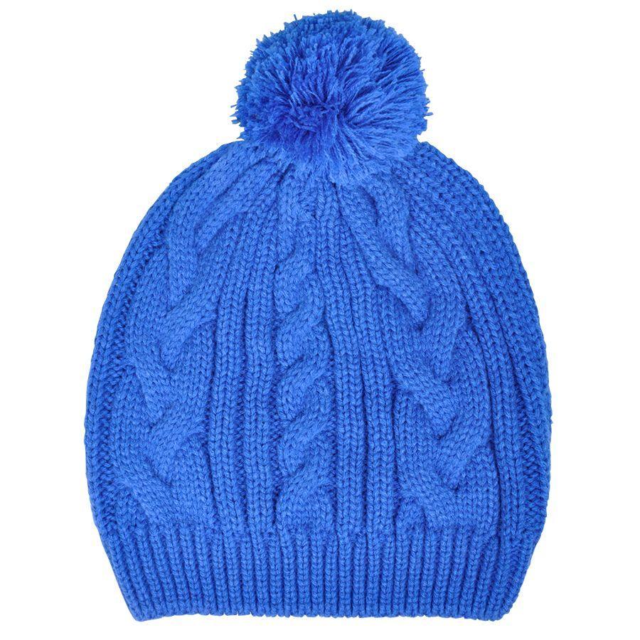 Синяя шапка Irish