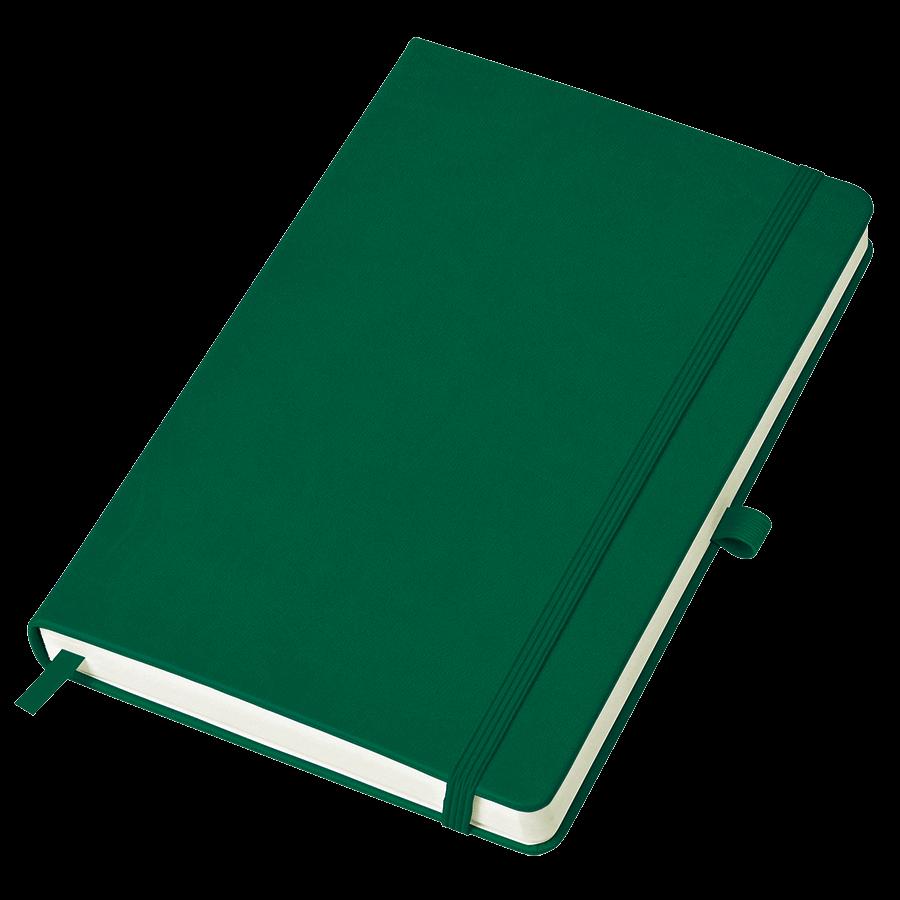 Бизнес-блокнот Justy А5 зеленый