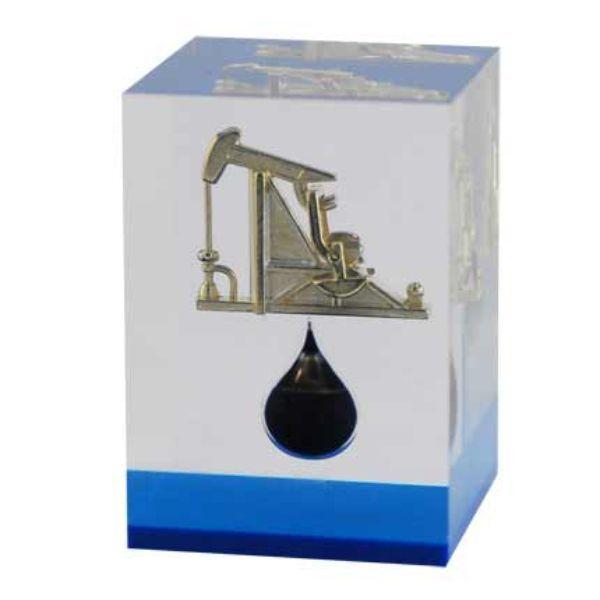 Пресс-папье Капля нефти с качалкой