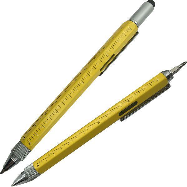 Инженерская желтая ручка Tool Touch