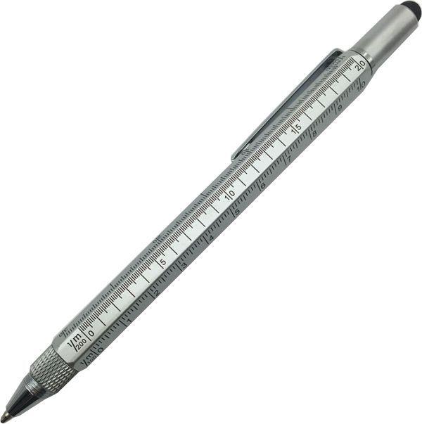 Серебристая ручка Tool Touch