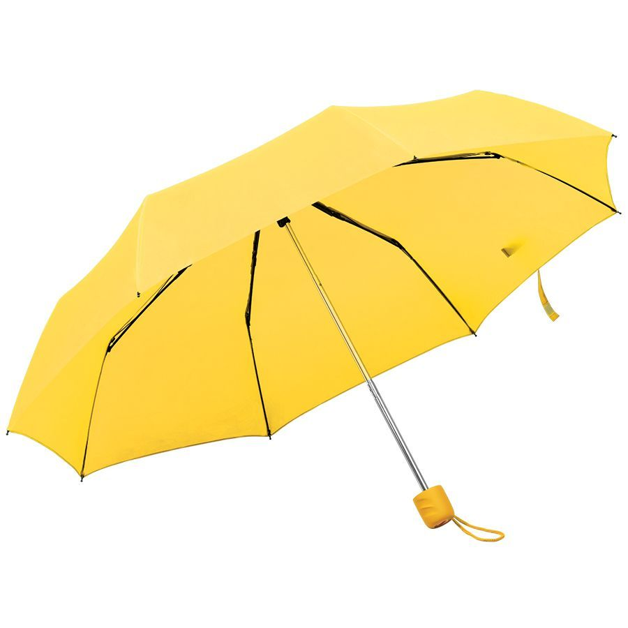 Складной зонт Foldi желтый