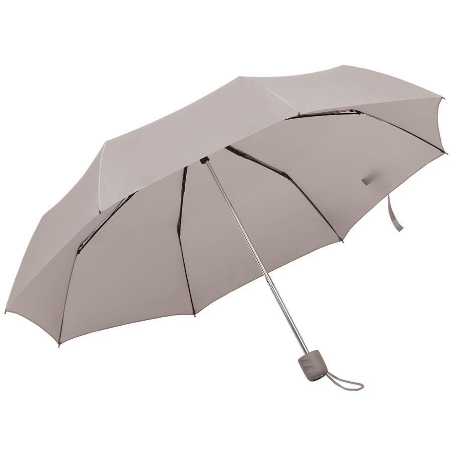 Складной зонт Foldi серый